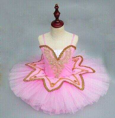Kinder  Performance Tanzkleid  Little Swan  Professional Ballett Rock  (Tanz Performance Kostüm Kinder)