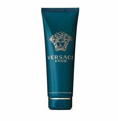 Eros Gel (Versace Eros Men 5.0 5 oz 150 ml Invigorating Shower Gel Huge New)