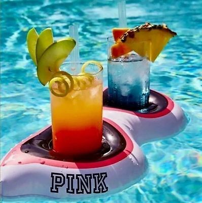 Victoria's Secret PINK NATION Floating Koozie Sunglasses Inflatable Cup Holder - Floating Koozie