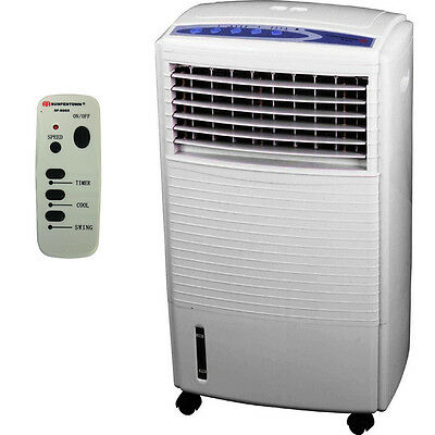 Sunpentown Portable Air Cooler, Mini Cooling Swamp Humidifier & Fan Conditioner