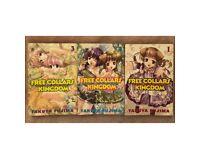 Free Collars Kingdom Manga. Volumes 1 to 3 by Takuya Fujima.