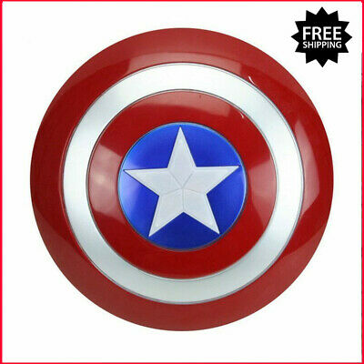 Captain America Shield Avengers Costume Cosplay Toy Red Assemble Kids Replica
