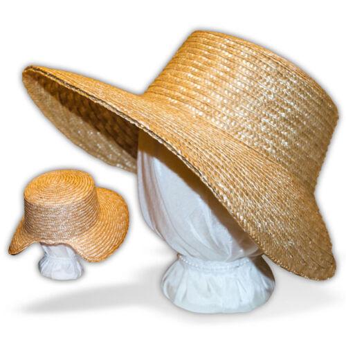 Austentation DIY Blank Regency Style Straw Bonnet 1790