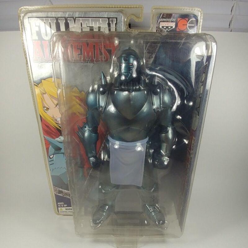 "2004 Banpresto Full Metal Alchemist ALPHONSE ELRIC 9"" PVC Figure Statue Anime"