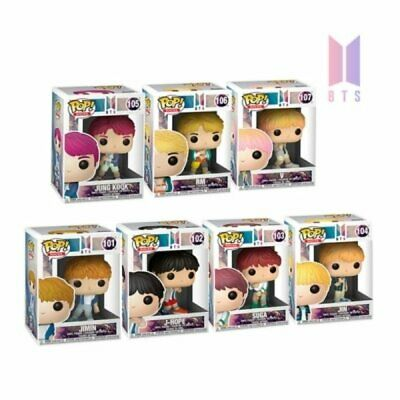 BTS Figure Funko Reveals Pop Rocks 7 Pieces in a Set with DHL EXPRESS
