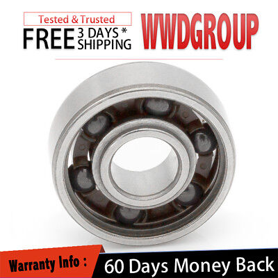 608 Open Type Hybrid Ceramic Ball Bearing 8mm 22mm 7mm Si3n4 Non Grease Fast