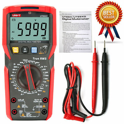 Uni-t Ut89xd Digital Multimeter Led Test Temperature Test True Rms 1m Dro