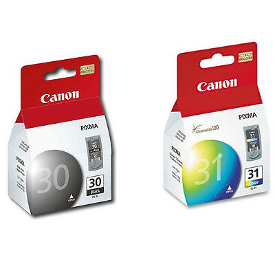 Canon Pg-30 Cl-31 Ink Ip1800 Ip2600 Mp140 Mp190 Mp210 Mp4...