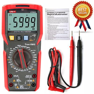 Uni-t Ut89xd Digital Multimeter Led Test Temperature Test True Rms