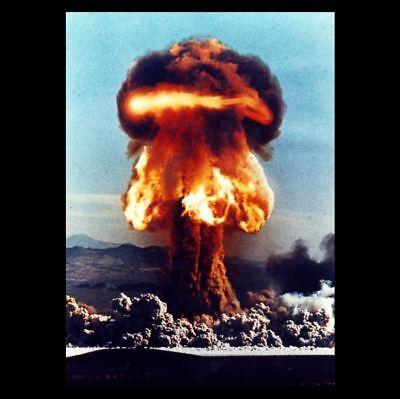 1953 Grable Nuclear Bomb Test PHOTO Atomic Cannon Shot,Operation Upshot-Knothole