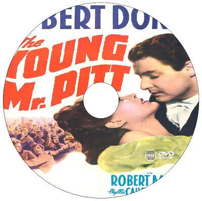 The Young Mr Pitt - Biography -  Robert Donat, Robert Morley - 1942