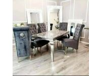 Asmara dinning table and chairs