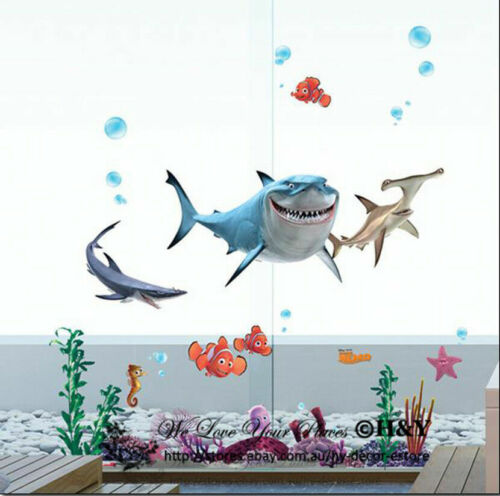 Home Decoration - Finding Nemo Disney Wall Stickers Vinyl Decal Kids Home Nursery Decor Mural Gift
