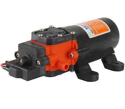 SEAFLO 1.2 GPM Water Pump 12V w/ Adjustable Pressure Switch -Boat RV Agriculture