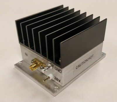 New 5 W 10 Mhz To 1200 Mhz 42 Db Gain Broadband Rf Power Amplifier