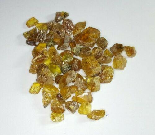 147.40 cts Stunning Natural Green Yellow Sphene Titanite Crystals@ Pakistan WOW!
