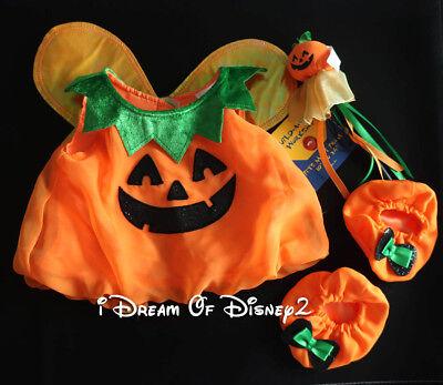 NEW Build-A-Bear HALLOWEEN PUMPKIN FAIRY DRESS, WAND, SLIPPERS Teddy Clothes (Bear Halloween Pumpkin)
