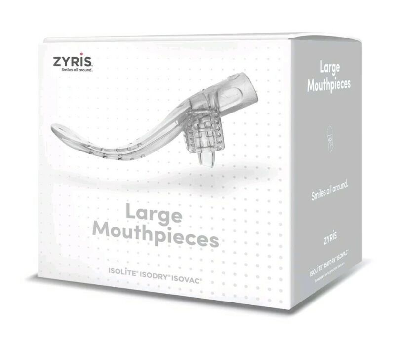 Isolite Mouthpiece Large Size, 10pcs/box Isodry/ Isovac dental system Zyris