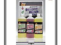 New triple x concentrate screen wash triple pack