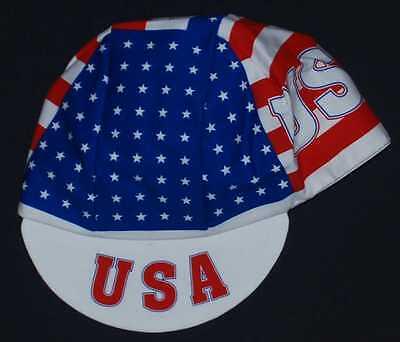 Usa Stars & Stripes Team Cycling Cap Bike Ride Hat