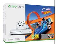 BRAND NEW Xbox One S 500GB Forza Horizon 3 & Hot Wheels
