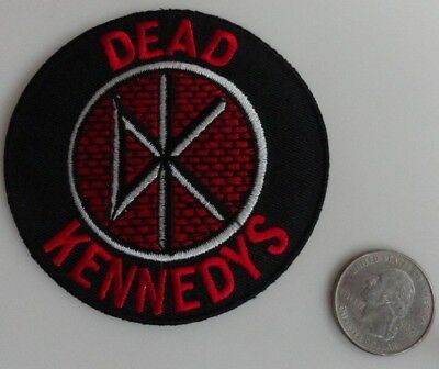 Dead Kennedys Circle Logo Embroidered Iron On Patch (Band, Punk Music) New Rare