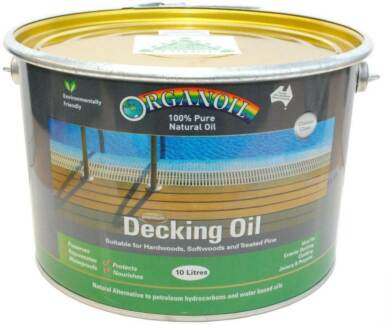 Decking Oil for timber decks 10 litres clear colour Revesby Bankstown Area Preview