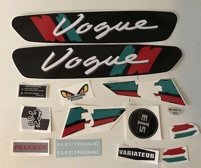 kit autocollant stickers peugeot 103 VOGUE