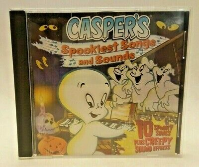 Casper's Spookiest Songs And Sounds CD (2005, Harvey Entertainment, 11 - Spookiest Halloween Music