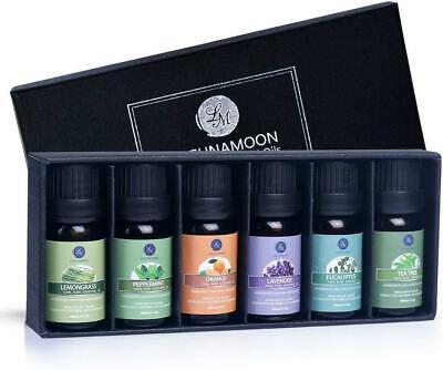 Lagunamoon Olio Essenziale, Top 6 Set di Olio Essenziale Aromaterapia di Lavanda
