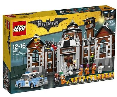 The LEGO Batman Movie Arkham Asylum Set 70912
