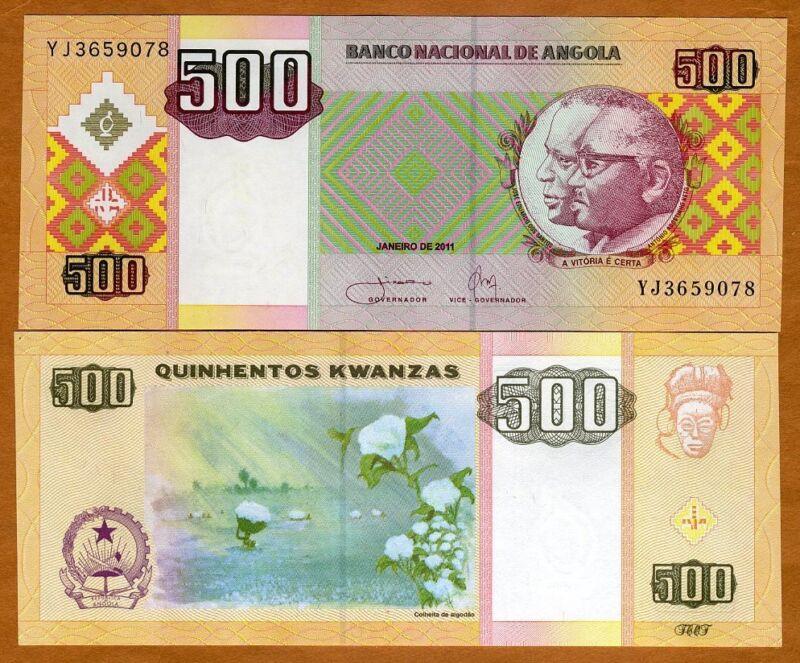 Angola, 500 Kwanzas, 2011, P-149b, UNC