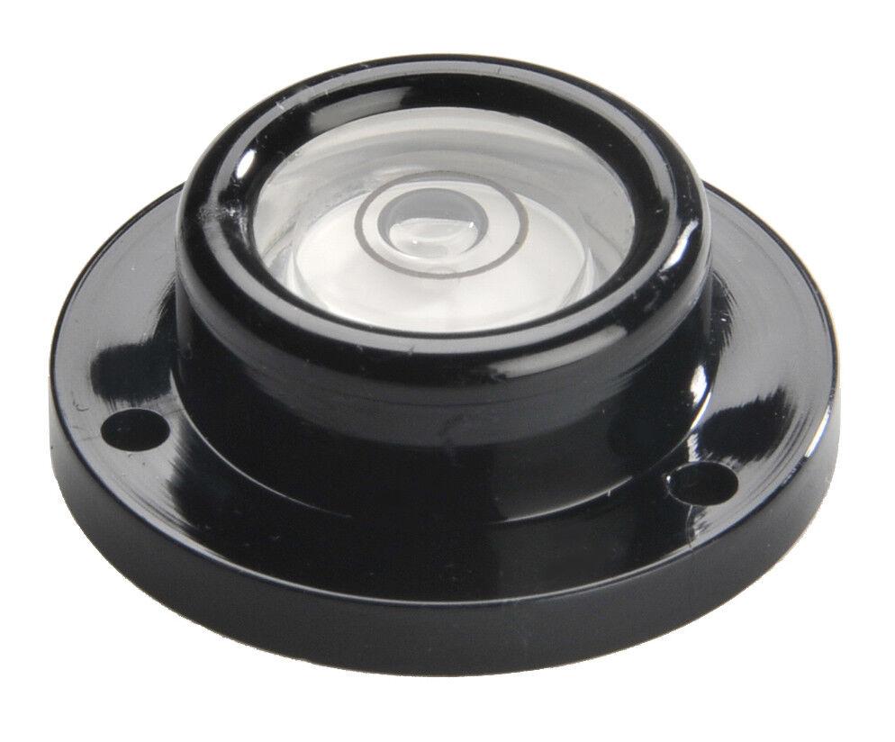 Dosenlibelle in Kunststofffassung; Durchmesser 20-43 mm; Empfindlichkeit 15 mm/m