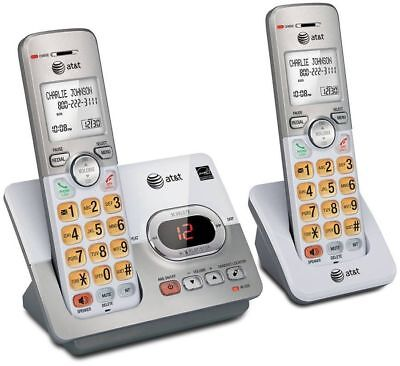 2Set Landline Cordless Telephone Portable Wireless Mobile Best Home Office