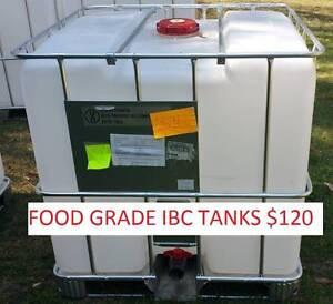 1000L FOOD GRADE IBC WATER TANK ( AQUAPONICS RAINWATER ) Capalaba Brisbane South East Preview