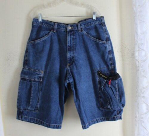 Ralph Lauren Polo Jeans Co -sz 34 1990s Vtg Bungee Cargo Shorts