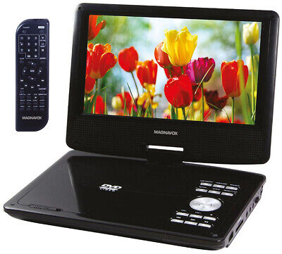 Magnavox 9 Inch TFT Swivel Screen Portable DVD/CD Player Wit