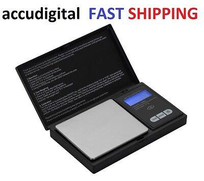1000g X 0.1g Digital Pocket Scale ACCUDIGITAL Portable Mini Kitchen Jewelry Gram