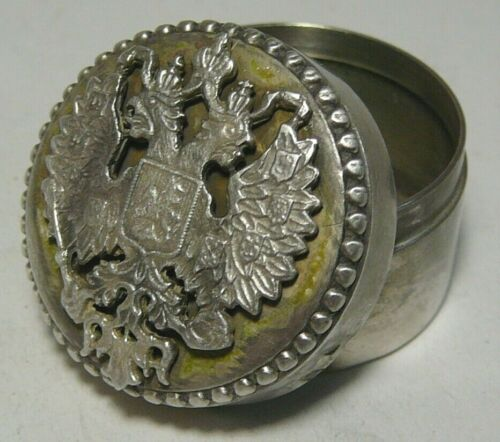 Box Silver 84 Imperial Russia Moscow 1901 Double Eagle