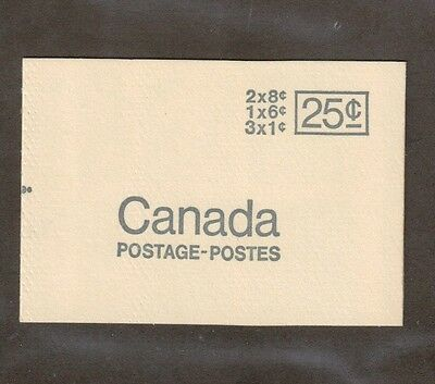 Canada Scott 69b -  25 Cent -  Stamp Booklet        #02 CAN69b