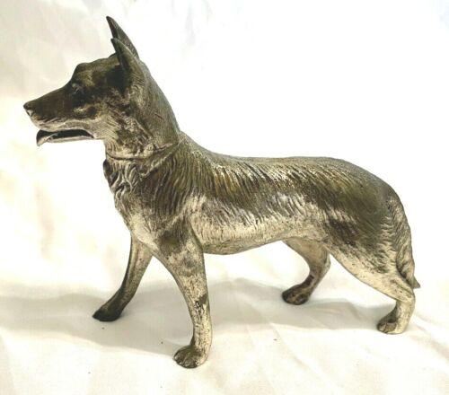 Vintage cast metal  Dog made in Japan