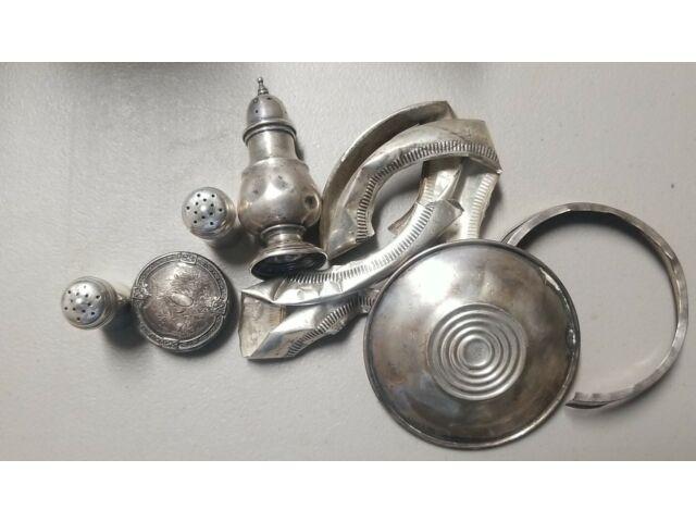 Scrap Sterling Silver 64 grams