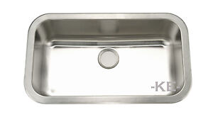 Stainless-Steel-Kitchen-Sink-Undermount-Large-Single-16G-9-Deep-Bowl-KE-301