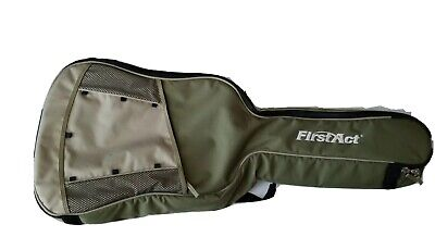 First Act Guitar soft case Gig Bag Backpack Style with shoulder straps