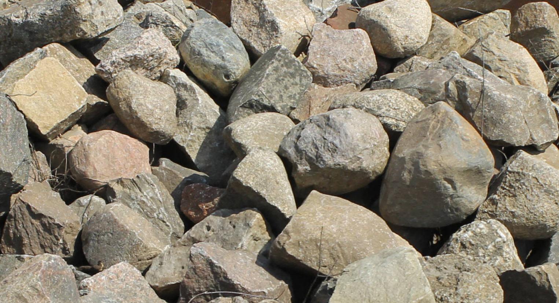 Lesesteine Findlinge Natursteine Feldsteine Gartensteine Bunt Gemischt 1000kg A