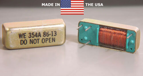 WESTERN ELECTRIC WE 354A 5-VOLT FORM B NORMALLY CLOSED MERCURY REED RELAY PCB US