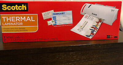 Scotch TL902 Thermal Laminator  Letter Size  8.9IN X 11.4IN