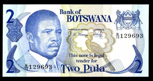 Botswana ... P-7b ... 2 Pula ... ND(1982) ... *UNC *