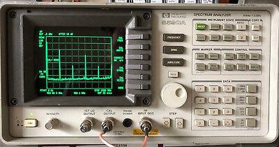 HP Agilent 8590A Spectrum Analyzer - 10Khz - 1.5Ghz - Tested