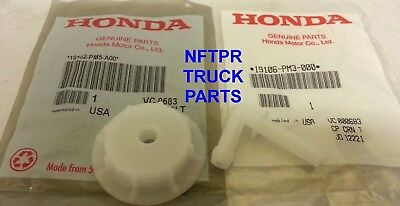 GENUINE OEM HONDA ACURA ENGINE COOLANT RECOVERY TANK CAP W JOINT